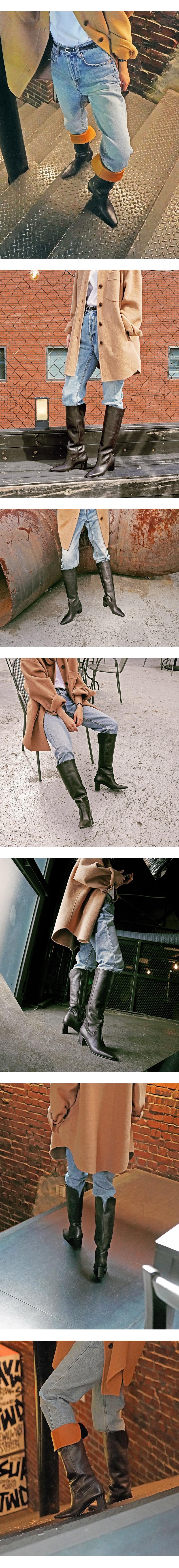 렉켄(REKKEN) Long boots_High EMBO 하이엠보 RK880b